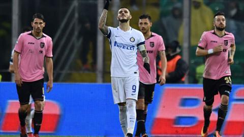 Tong hop: Palermo 0-1 Inter Milan (Vong 21 Serie A 2016/17)