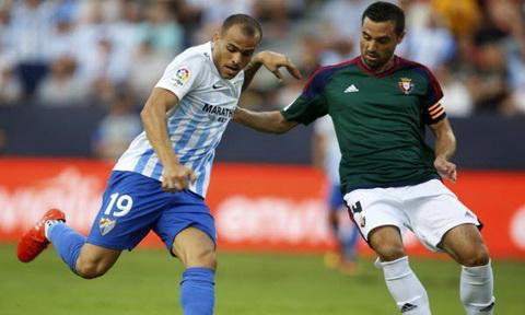 Nhan dinh Osasuna vs Malaga 02h45 ngay 281 (La Liga 201617) hinh anh