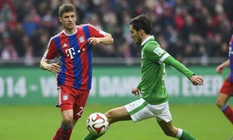Nhan dinh Bremen vs Bayern Munich 21h30 ngay 281 (Bundesliga 201617) hinh anh
