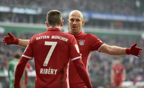 Bremen 1-2 Bayern Munich Doi canh Robbery tro lai hinh anh