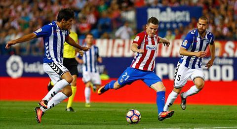 Tong hop Alaves 0-0 Atletico Madrid (Vong 20 La Liga 201617) hinh anh