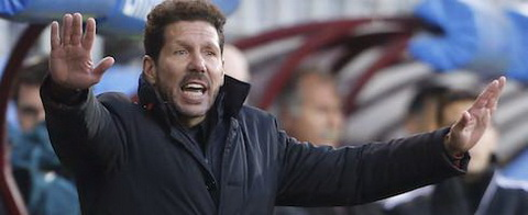 Diego Simeone thua nhan Atletico Madrid da thi dau khong tot.