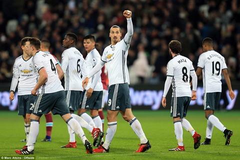 Zlatan Ibrahimovic tiep tuc sam vai nguoi hung dua Man Utd den chien thang.