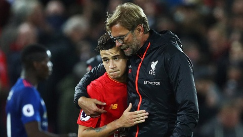 Coutinho Liverpool chac chan se co danh hieu nho Klopp hinh anh
