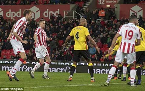 Tong hop Stoke 2-0 Watford (Vong 20 NHA 201617) hinh anh