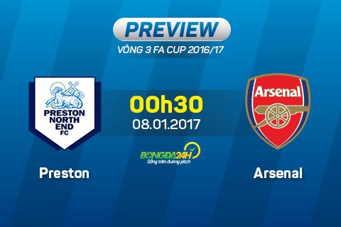 Preston North End vs Arsenal (0h30 ngay 81) Dang cap vuot troi hinh anh