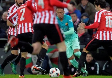 Bilbao 2-1 Barca Blaugrana thua nhuc trong the 12 danh 9 hinh anh