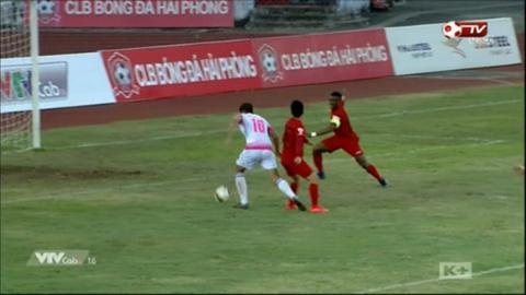 Tổng hợp: Hải Phòng 0-1 Sài Gòn (Vòng 1 V-League 2017)