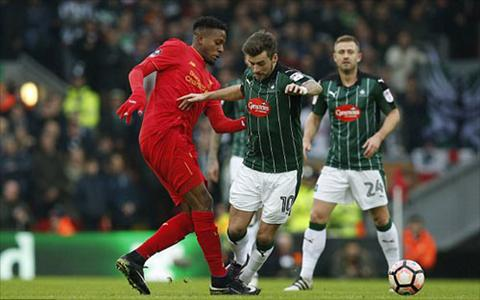Tong hop Liverpool 0-0 Plymouth (Vong 3 FA Cup 201617) hinh anh