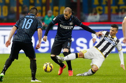 Nhan dinh Udinese vs Inter Milan 18h30 ngay 0801 (Serie A 201617) hinh anh
