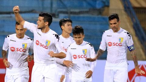 DKVD Ha Noi FC bat ngo de chung tan binh TPHCM hinh anh