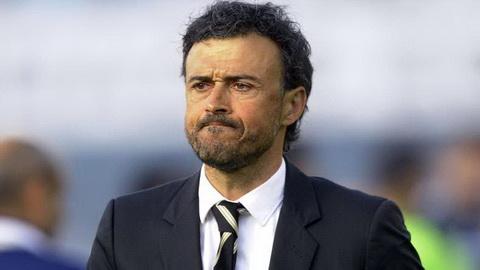 Barcelona ruc rich thay the Luis Enrique cuoi mua hinh anh