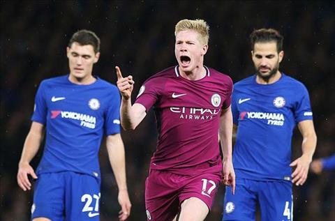 Kevin De Bruyne ghi ban thang duy nhat de Man City thang lon tai Stamford Bridge