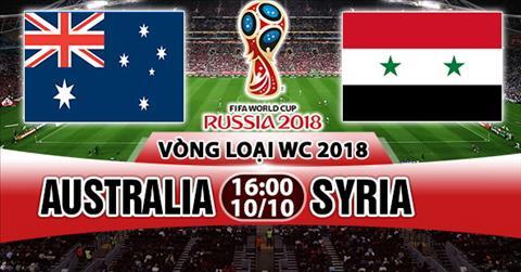 Nhan dinh Australia vs Syria 16h00 ngay 1010 (VL World Cup 2018) hinh anh