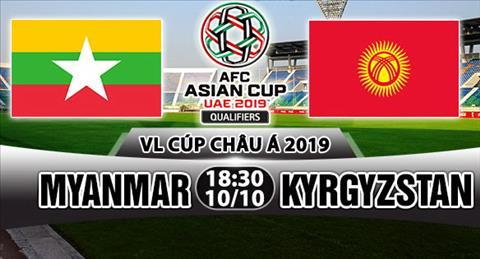 Nhan dinh Myanmar vs Kyrgyzstan 18h30 ngay 1010 (VL Asian Cup 2019) hinh anh