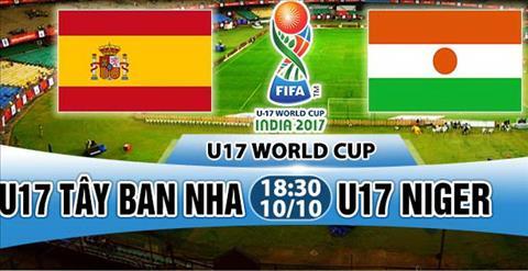 Nhan dinh U17 Tay Ban Nha vs U17 Niger 18h30 ngay 1010 (VCK U17 World Cup 2017) hinh anh