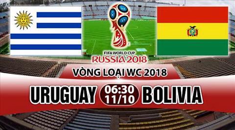 Nhan dinh Uruguay vs Bolivia 06h30 ngay 1110 (VL World Cup 2018) hinh anh