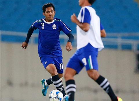 Viet Nam vs Campuchia 'Messi Campuchia' da san sang hinh anh