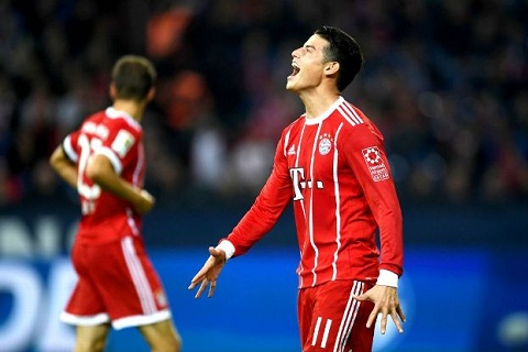 Bayern tiet lo ly do khien James Rodriguez kho song o Duc hinh anh