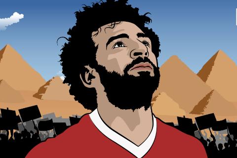 Mohamed Salah: Đốm lửa hồng giữa đêm Ai Cập