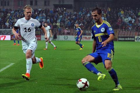 Nhan dinh Estonia vs Bosnia 01h45 ngay 1110 (VL World Cup 2018) hinh anh