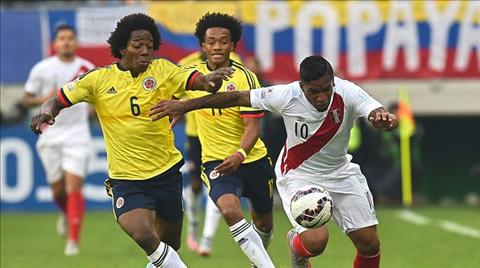 Nhan dinh Peru vs Colombia 06h30 ngay 1110 (VL World Cup 2018) hinh anh