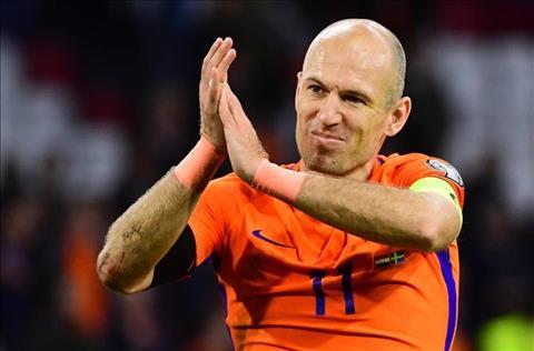 Robben chia tay DT Ha Lan