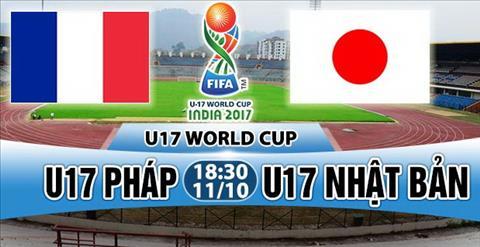 Nhan dinh U17 Phap vs U17 Nhat 18h30 ngay 1110 (VCK U17 World Cup 2017) hinh anh
