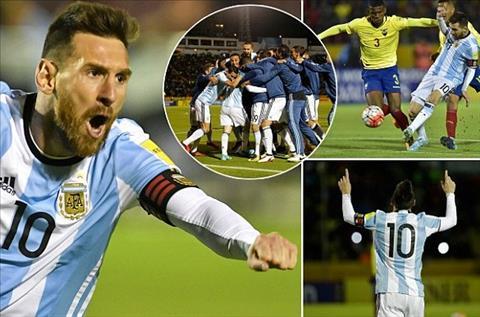 Dan loi Argentina vuot cua tu, Messi nguoi ngoai noi dau qua khu hinh anh
