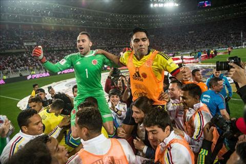 Tran Peru vs Colombia da duoc dan xep ty so de loai Chile hinh anh