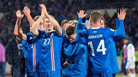 DT Iceland lap mot loat thanh tich an tuong khi gianh quyen du World Cup 2018.