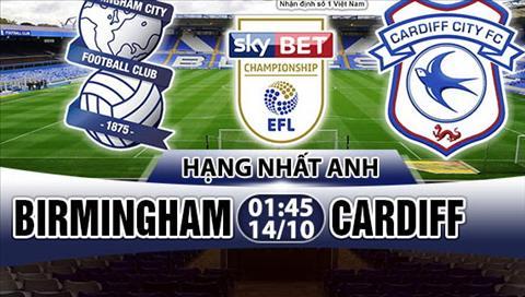 Nhan dinh Birmingham vs Cardiff 01h45 ngày 1410 (Hang Nhat Anh 201718) hinh anh