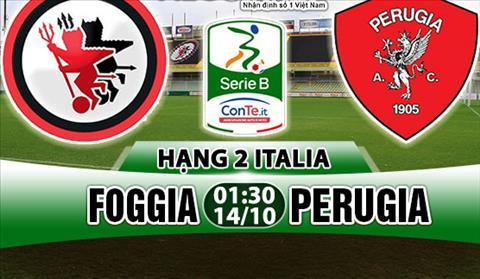 Nhan dinh Foggia vs Perugia 01h30 ngay 1410 (Hang 2 Italia 201718) hinh anh
