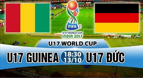 Nhan dinh U17 Guinea vs U17 Duc 18h30 ngay 1310 (VCK U17 World Cup 2017) hinh anh