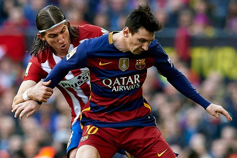 Messi co the vo dich voi doi hinh xoang xinh hinh anh
