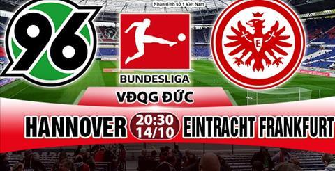 Nhan dinh Hannover vs Frankfurt 20h30 ngay 1410 (Bundesliga 201718) hinh anh
