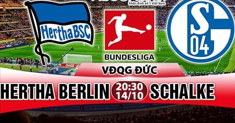 Nhan dinh Hertha Berlin vs Schalke 20h30 ngay 1410 (Bundesliga 201718) hinh anh