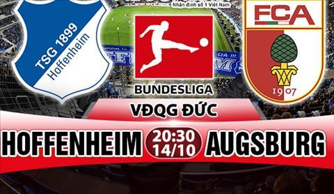 Nhan dinh Hoffenheim vs Augsburg 20h30 ngay 1410 (Bundesliga 201718) hinh anh