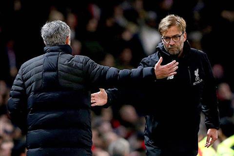 Jurgen Klopp va Jose Mourinho