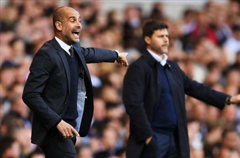 Guardiola dinh chinh vu da deu Tottenham hinh anh