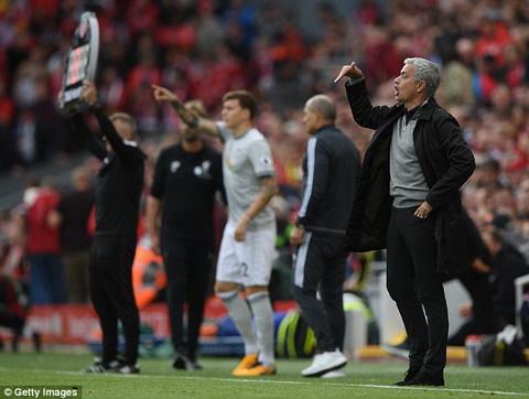 Man Utd hoa Liverpool Giong bao moi bat dau thoi, Mourinho hinh anh 2
