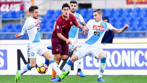 Nhan dinh Roma vs Napoli 01h45 ngay 1510 (Serie A 201718) hinh anh
