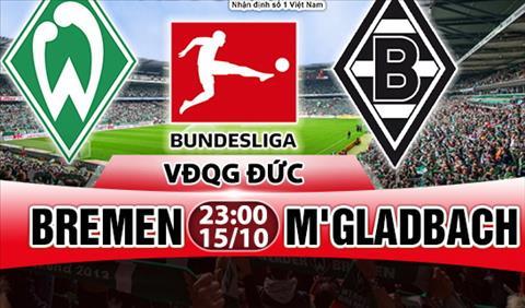 Nhạn dịnh Bremen vs Monchengladbach 23h00 ngày 1510 (Bundesliga 201718) hinh anh