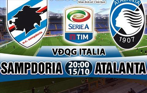 Nhan dinh Sampdoria vs Atalanta 20h00 ngay 1510 (Serie A 201718) hinh anh