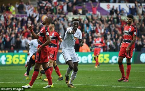 Tong hop Swansea 2-0 Huddersfield (Vong 8 NHA 201718) hinh anh