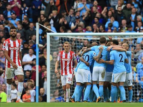 Man City 7-2 Stoke