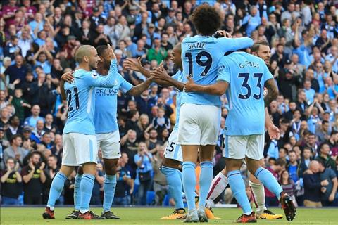Man City ha Stoke 7-2