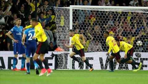 Tom Cleverley Watford 2-1 Arsenal