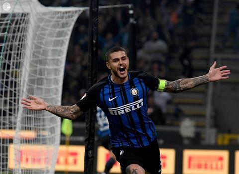 Inter 3-2 AC Milan Icardi lap hattrick, derby Milano sieu kich tinh hinh anh