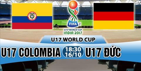 Nhan dinh U17 Colombia vs U17 Duc 18h30 ngày 1610 (VCK U17 World Cup 2017) hinh anh